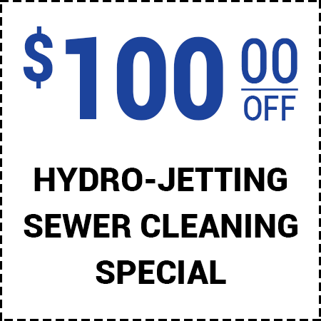 $100 Off Hydro Jetting - Call For Details
