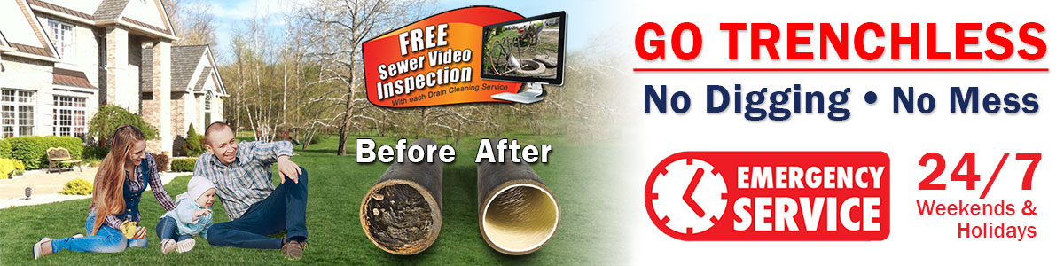 Go Trenchless - No Digging - No Mess